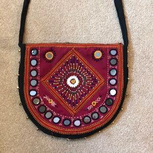 Handbags - Hand beaded BoHo Bag